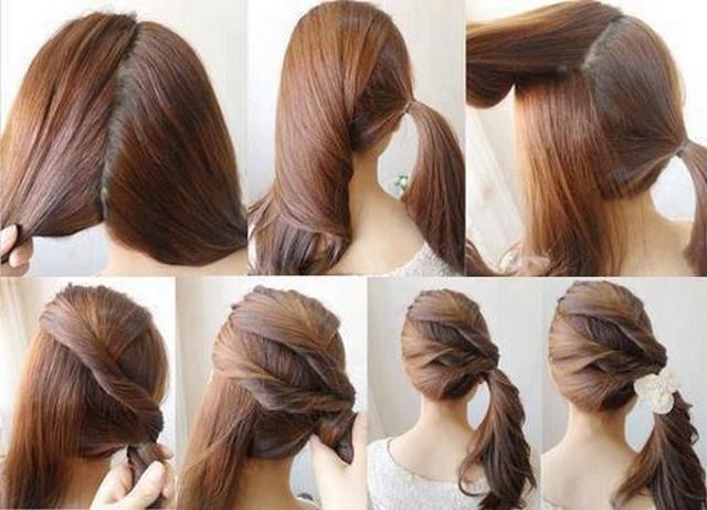 Glamorous-Ponytail-Hairstyle