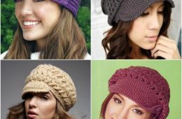 Top 10 Fashionable DIY Hats And Caps (Free Crocheting Patterns) | Top Inspired