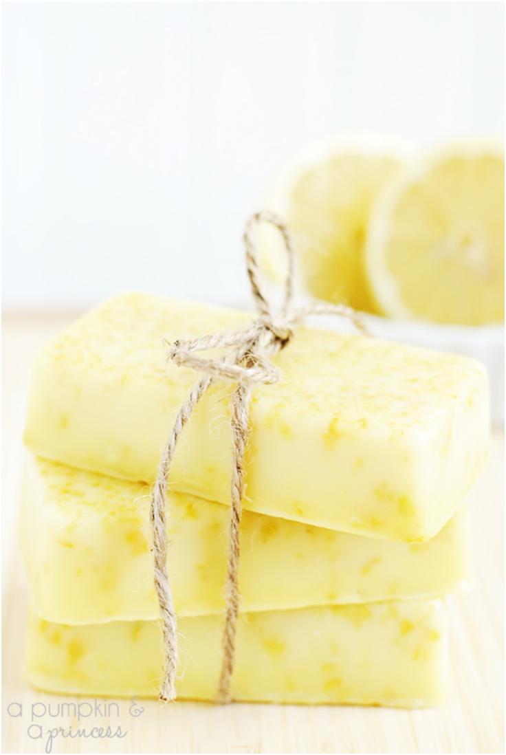 Homemade-Lemon-Soap
