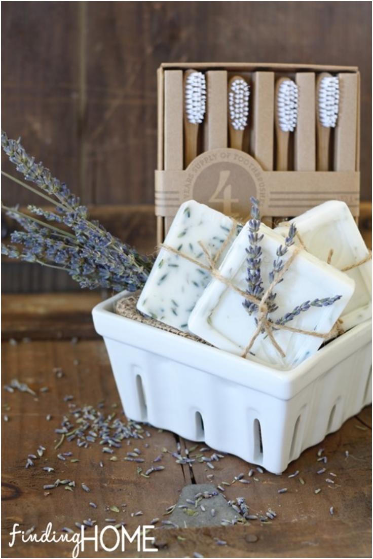 Homemade-Lemon-Verbena-and-Lavender-Goat-Milk-Soap