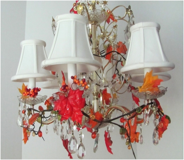 Top 10 diy fall chandelier decorations top inspired top 10 diy fall chandelier decorations aloadofball Image collections