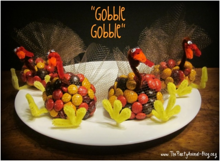 Top cute diy thanksgiving turkey treats inspired