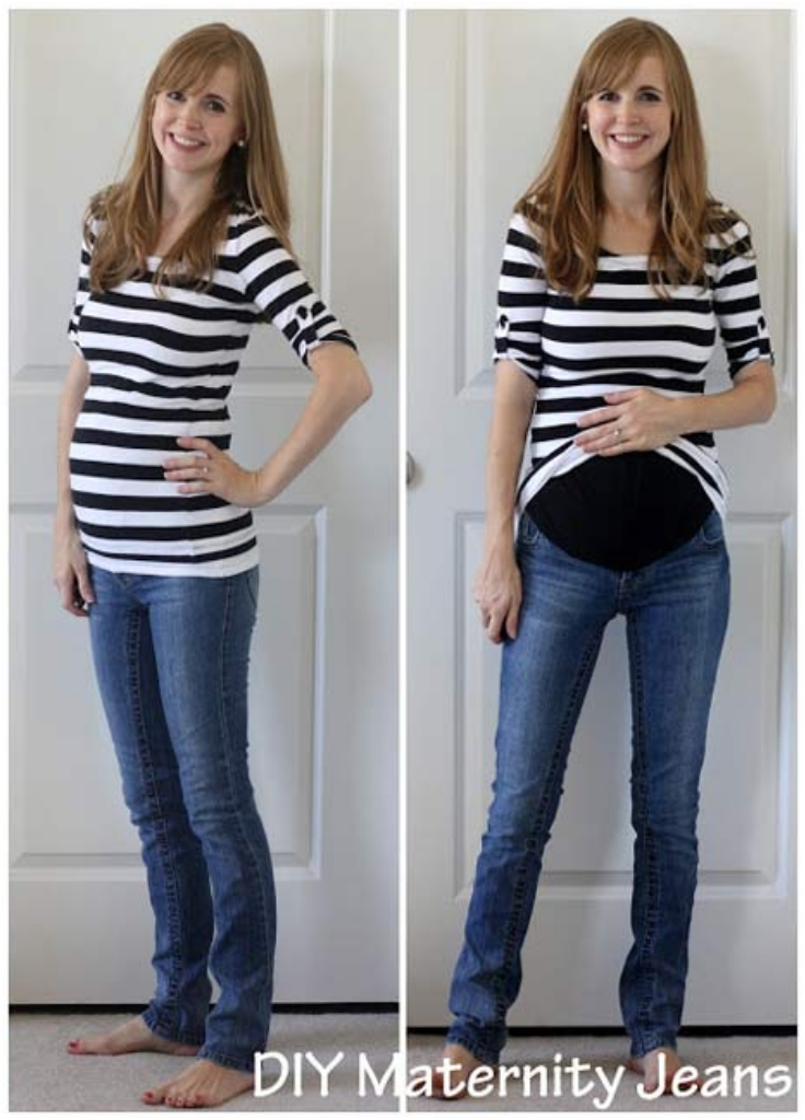 Top 10 DIY Maternity Clothes