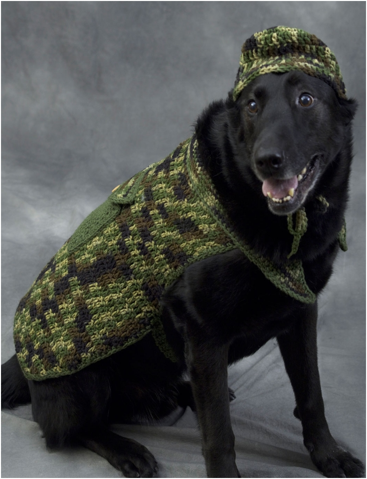 Hunter Dog Crochet Pattern