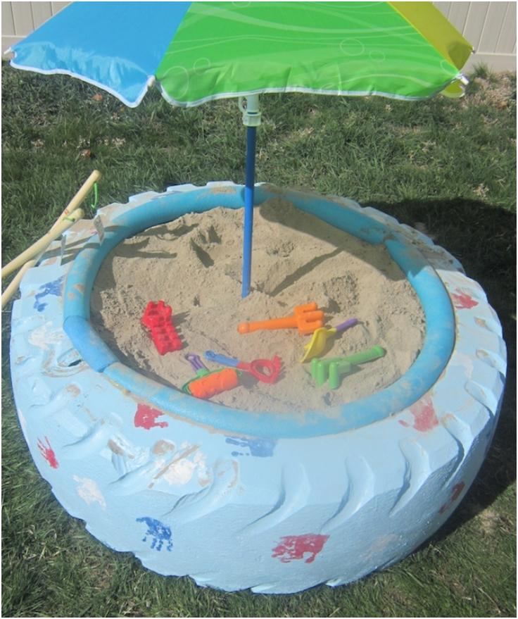 Make-A-Sandbox-With-A-Tire