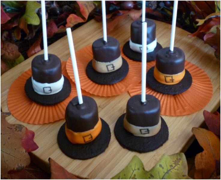 Marshmallow-Pilgrim-Hats