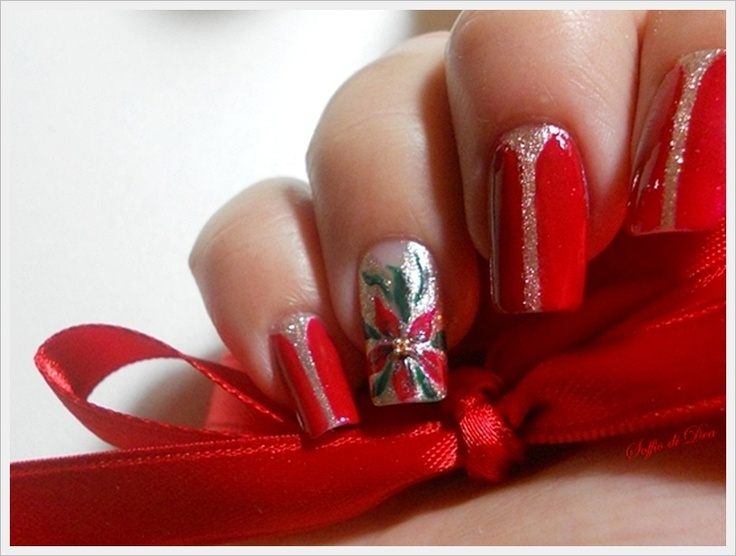 Nail-Art-Christmas-Star