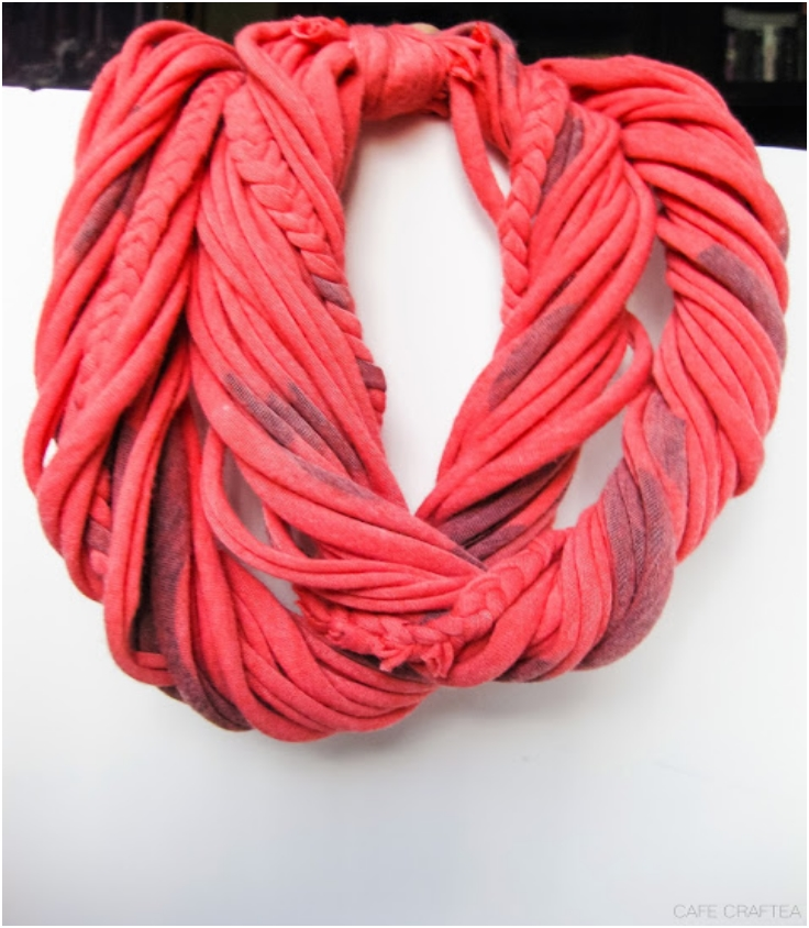 Top 10 Fall Scarves From Old T Shirts Top Inspired