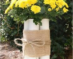 PVC Flower Vase Craft