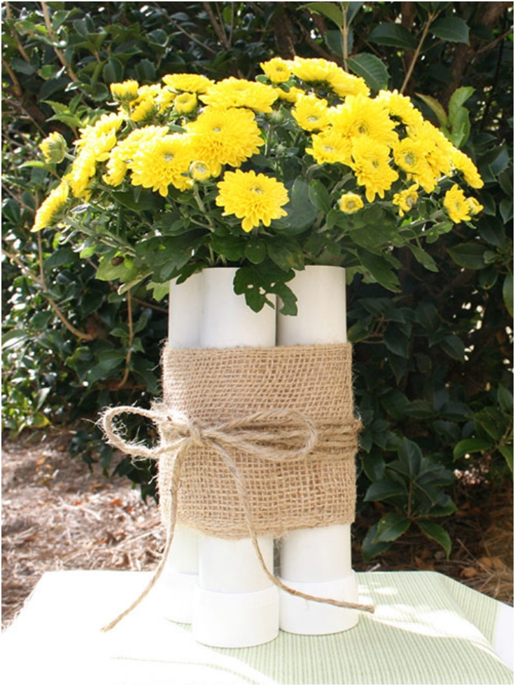 PVC-Flower-Vase-Craft