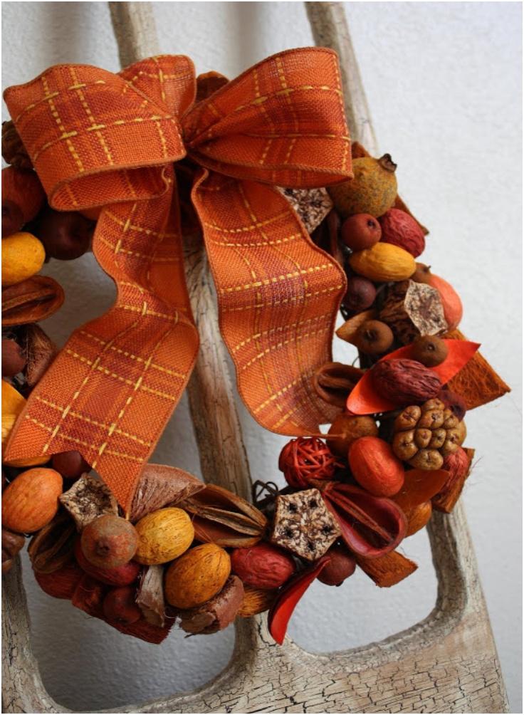 Potpourri-Wreath