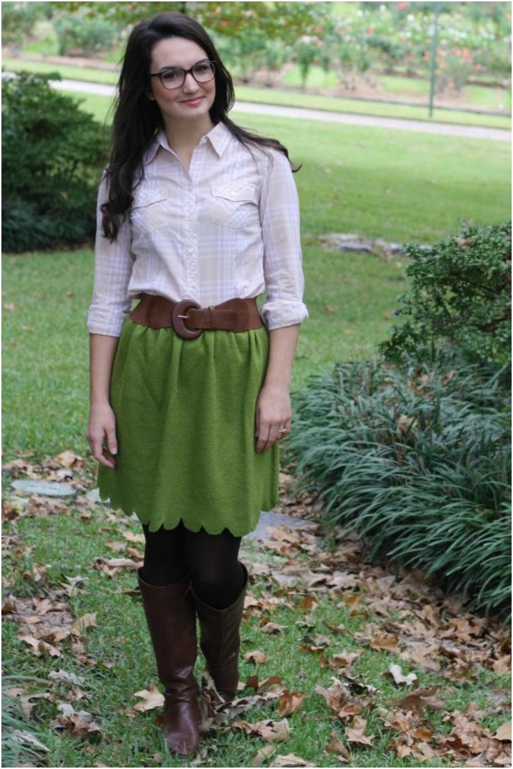 Top 10 DIY Skirts For Colder Weather