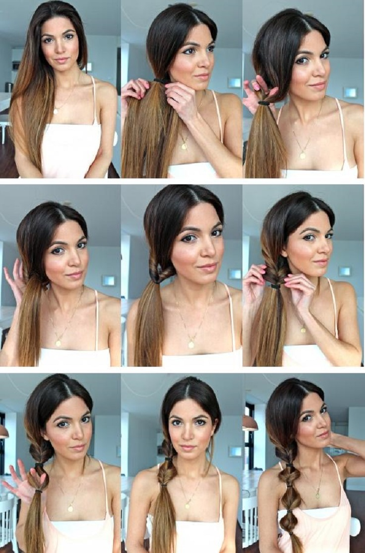 These ponytails are the perfect answer for looking chic for every occasion and they will prove you that ponytails are not just for the gym! #Hairstyle #Ponytails