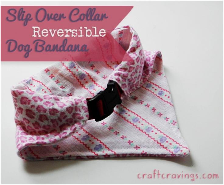 Slip-Over-Collar-Reversible-Dog-Bandana