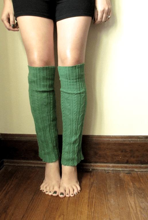Sweater-leg-warmers