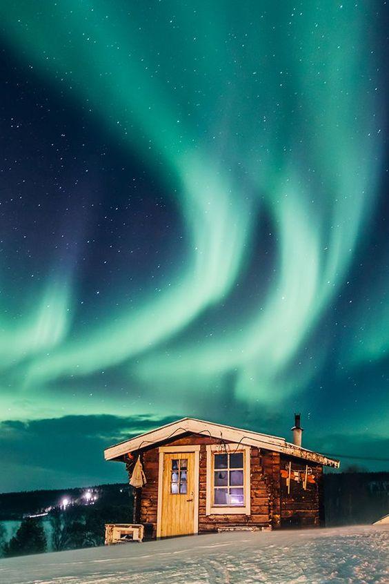 Sweeden-Aurora-lights-