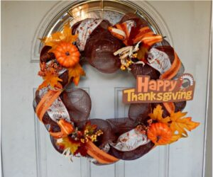 Top 10 DIY Thanksgiving Wreaths