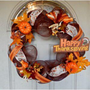 Top 10 DIY Thanksgiving Wreaths | Top Inspired