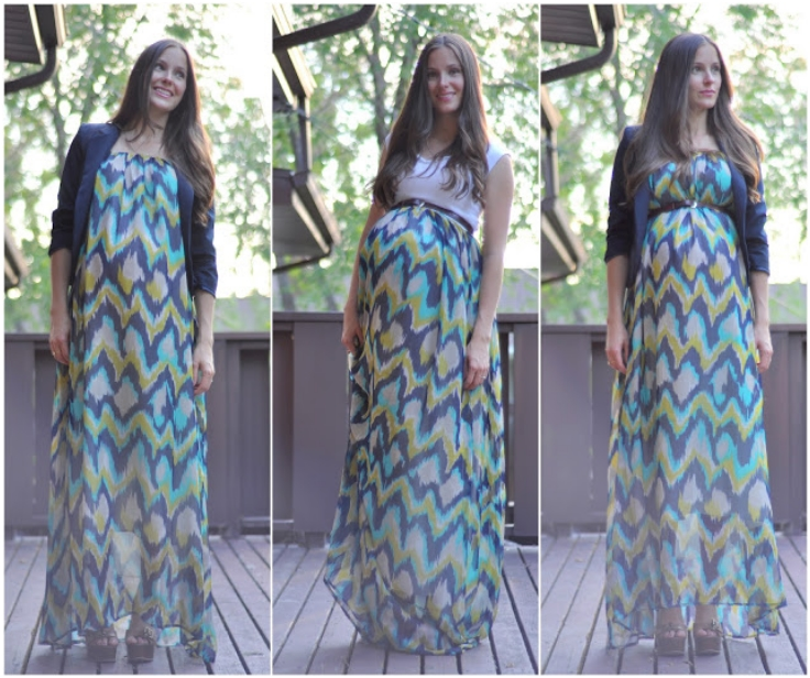 Как сшить летнюю юбку для беременных своими руками