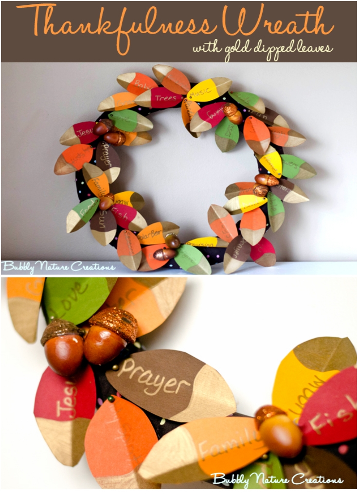 Thankfulness-Wreath-with-Gold-Dipped-Leaves