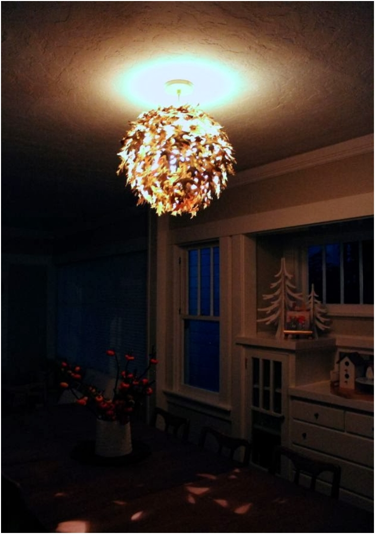 Top 10 Diy Fall Chandelier Decorations Top Inspired