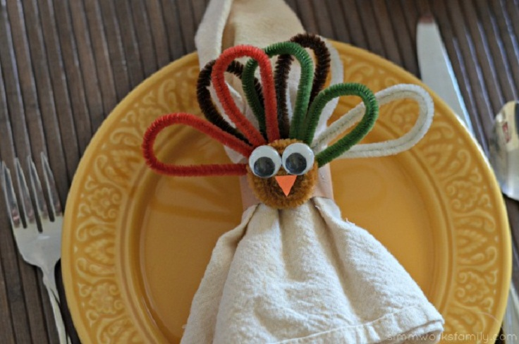 Thanksgiving napkin rings the image kid for Napkin rings for thanksgiving