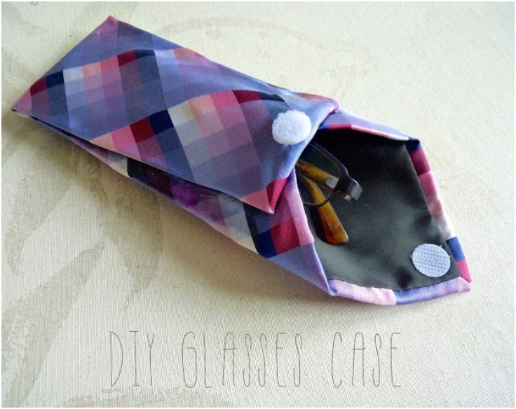 Up-cycled-Tie-Glasses-Case