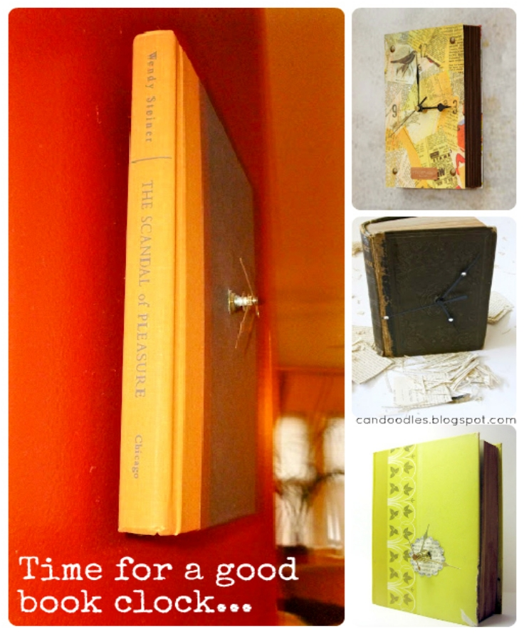 Upcycle-Time-for-a-good-Book-Clock