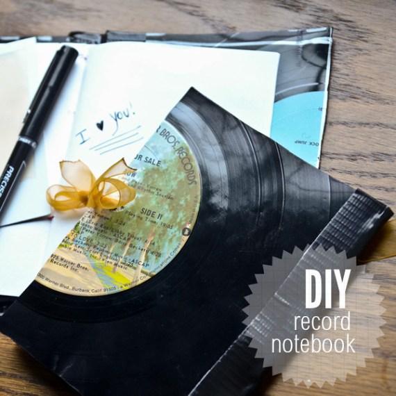 Vinyl-notebook