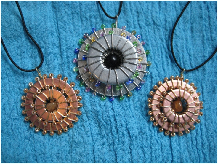 Ring Washer Necklace
