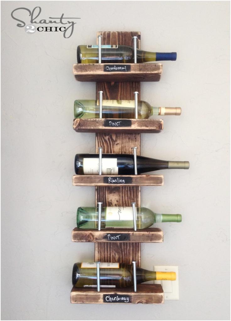 Top elegant diy wine racks inspired