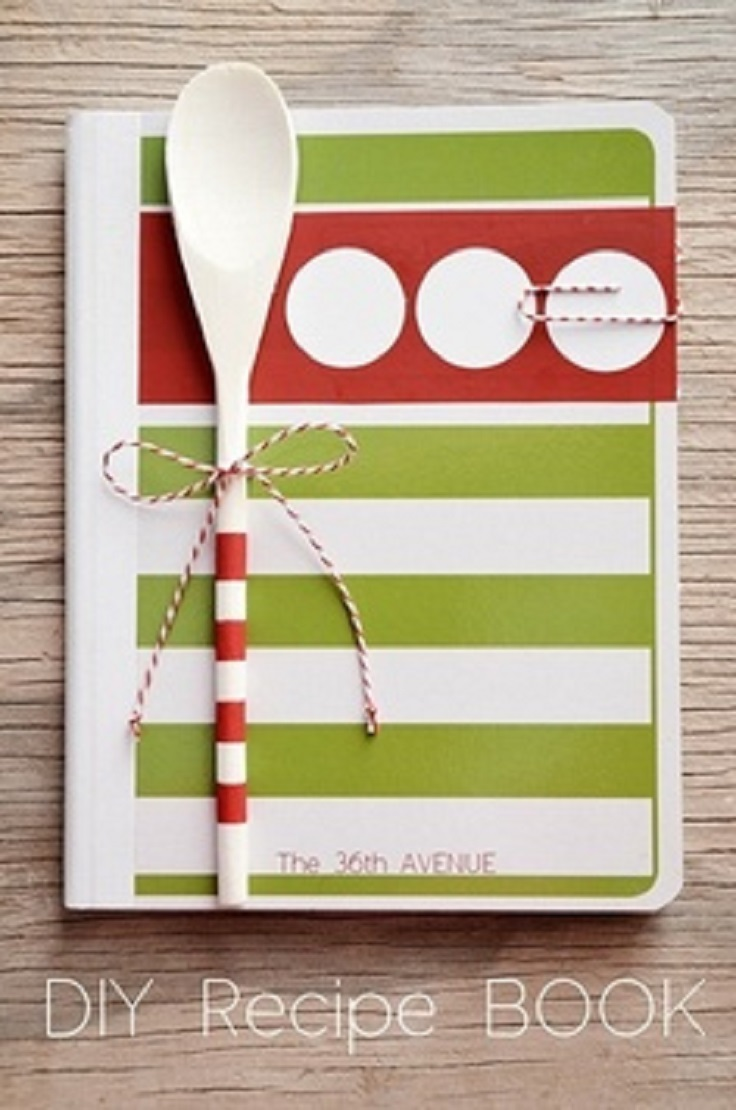 Creative Book Cover Diy ~ Top diy creative cookbooks inspired