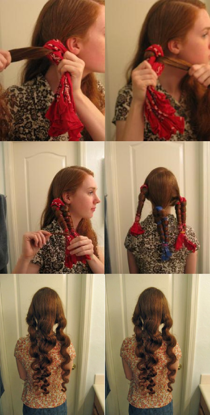 ways to style your hair overnight 10 diy no heat curls tutorials top inspired 4946