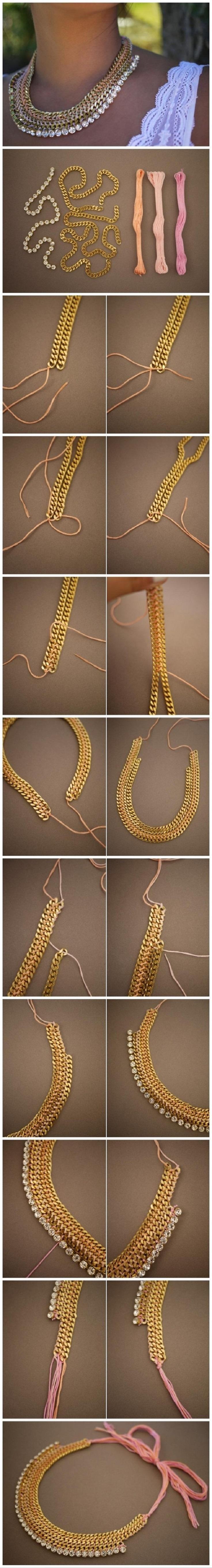 Top 10 Best Tutorials for DIY Necklaces