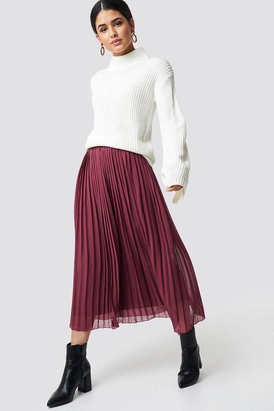 burgundy-midi-skirt-