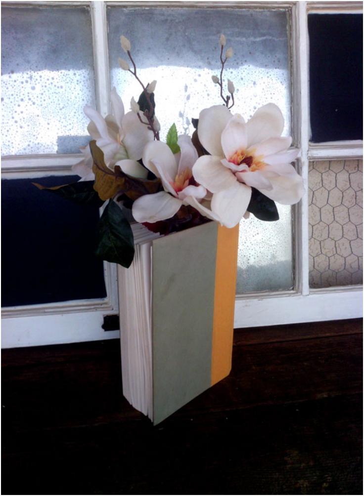 diy-book-vase