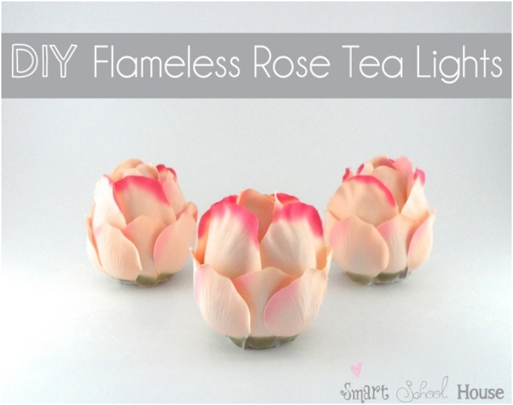 diy-flameless-rose-tea-lights
