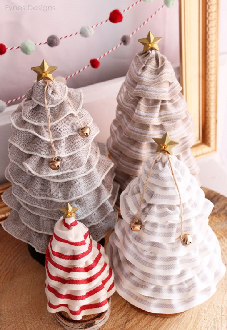 Top 10 fun and unique diy decorations for christmas top for Creative christmas decorations