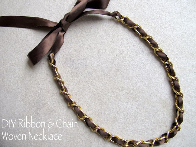 diy-ribbon-and-chain-woven-necklace