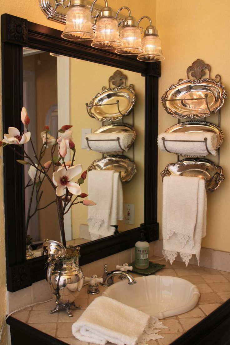 Top 10 diy ideas for bathroom decoration for Bathroom decor ideas