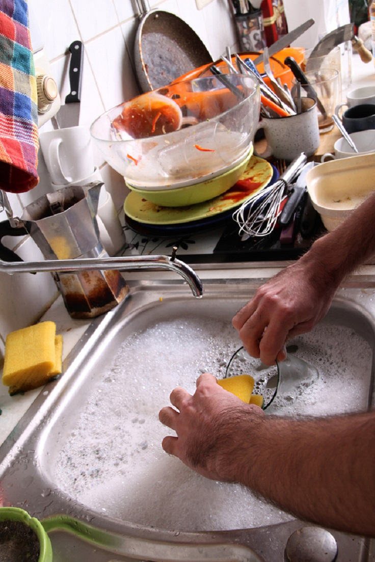 Top 10 quick and easy hand dish washing tips top inspired - Dish washing tips ...