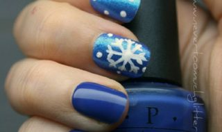 Top 10 DIY Winter Nail Art   Top Inspired