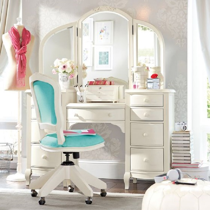 Top 10 amazing makeup vanity ideas top inspired for Cute makeup vanity