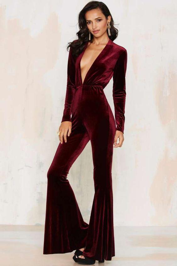 long-sleeve-jumpsuit-burgundy