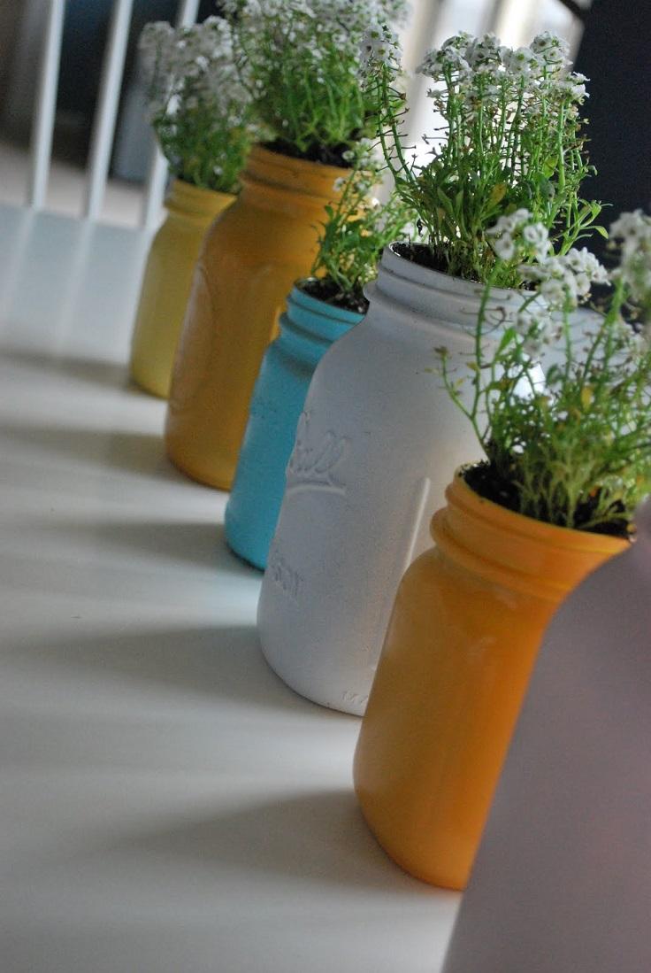 Top 10 DIY Ways To Recycle Mason Jars