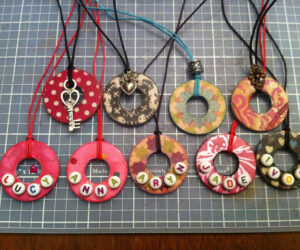 Top 10 Fun And Fancy DIY Washer Necklaces
