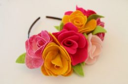 Top 10 Pretty Fabric Flower Tutorials | Top Inspired