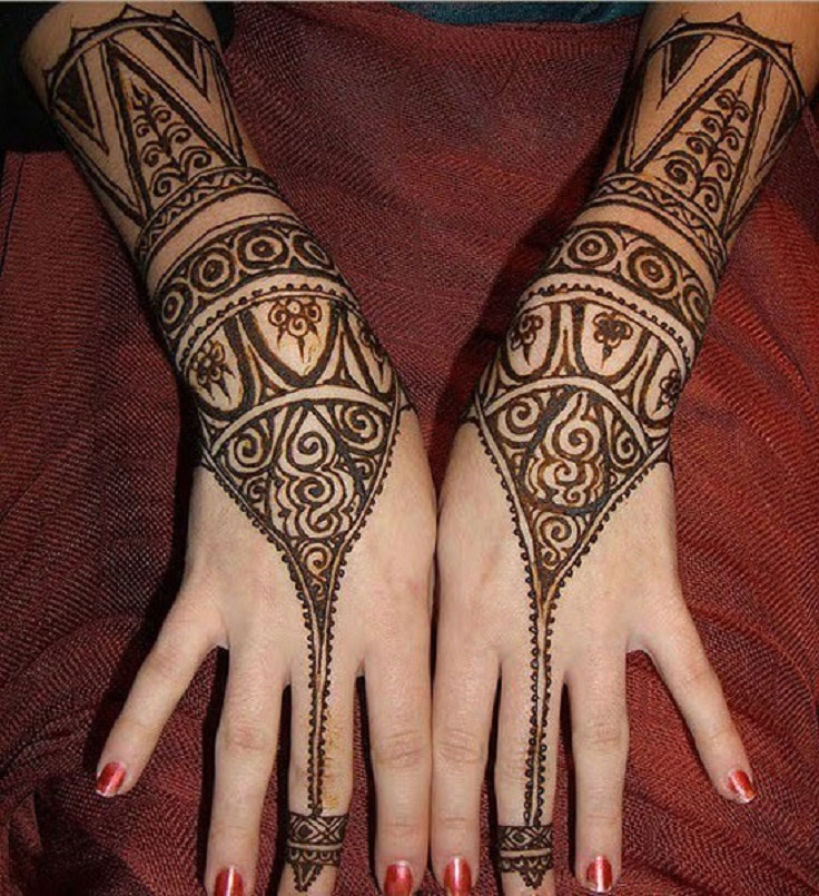 top 10 great temporary henna tattoos top inspired. Black Bedroom Furniture Sets. Home Design Ideas