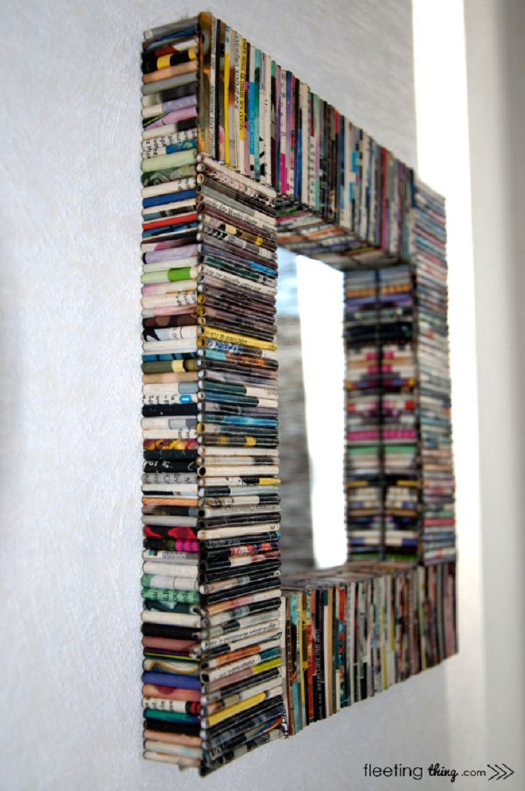 top 10 diy mirror frames - Decorate Mirror Frame