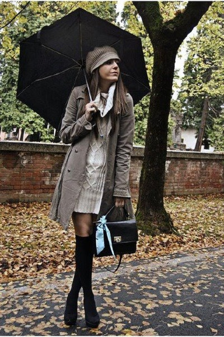 10 Rainy Day Outfits And Trends For Fall Winter Top Inspired